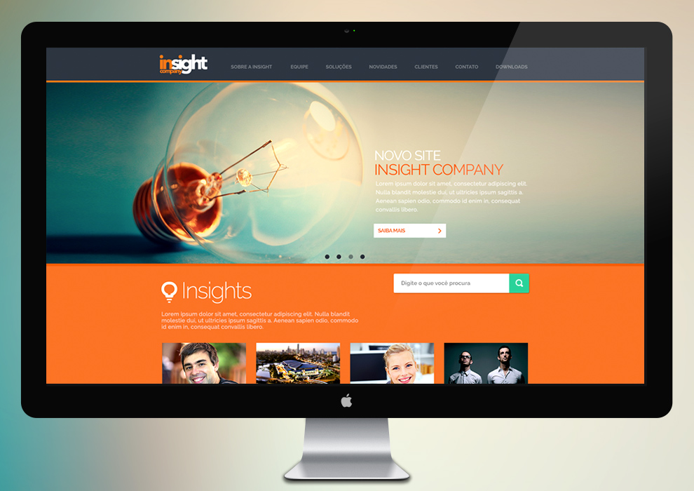 Inisght Company Website